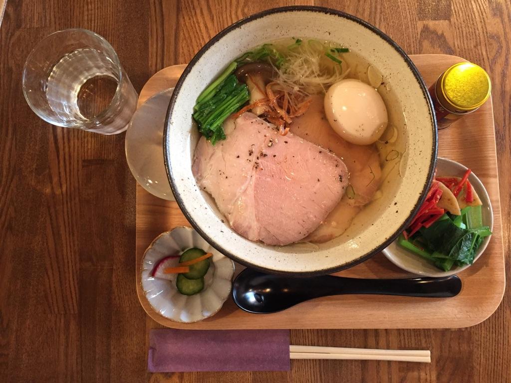 荒川区熊野前のカフェ「こひきや」でだし絶品のうどんランチ