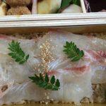家でもお花見気分!神田明神下 新開花「鯛の黒酢寿し膳」は文句なしに美味しい!