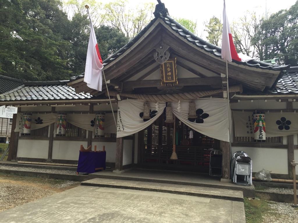 """氣多神社と春の例大祭と""""とぼ餅"""" — 富山の旅②"""