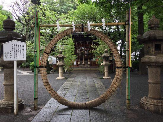 七社神社の茅の輪