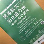 東京都の感染拡大防止協力金第2回受付開始されました