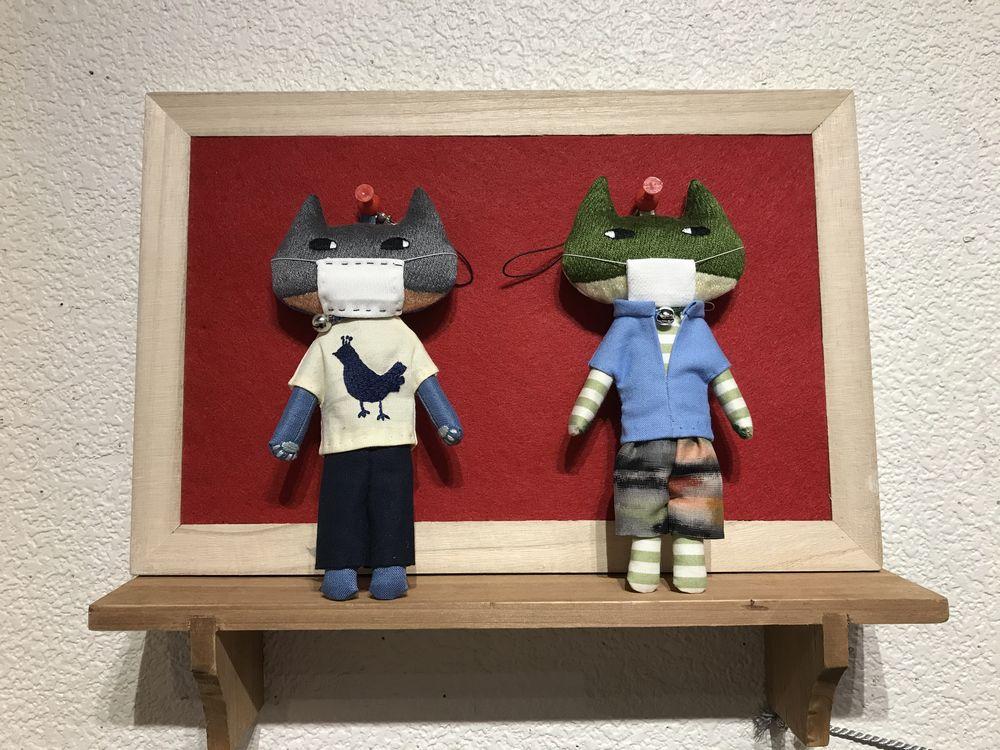 「たかがマスク、されどMASK展」@銀座6丁目